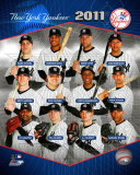 New York Yankees 2011 Team Composite Photographie