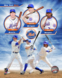 New York Mets 2011 Triple Play Composite Fotografa