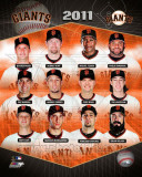 San Francisco Giants 2011 Team Composite Photo