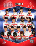 Boston Red Sox 2011 Team Composite Fotografía