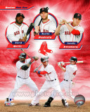 Boston Red Sox 2011 Triple Play Composite Photo