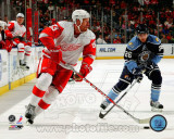 Johan Franzen 2010-11 Action Photo