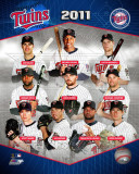 Minnesota Twins 2011 Team Composite Photo