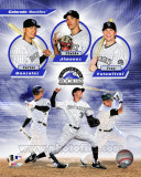 Colorado Rockies 2011 Triple Play Composite Photographie
