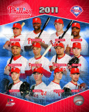 Philadelphia Phillies 2011 Team Composite Photo
