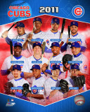 Chicago Cubs 2011 Team Composite Photo