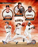 San Francisco Giants 2011 Triple Play Composite Photo
