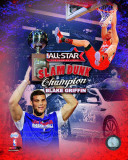 Blake Griffin 2011 NBA Slam Dunk Champion Portrait Plus Photo