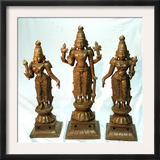 Antique Idols Framed Photographic Print by Manish Swarup