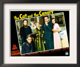 The Cat and the Canary, Douglass Montgomery, Gale Sondergaard, Elizabeth Patterson, and Bob Hope Prints
