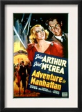 Adventure in Manhattan, Jean Arthur, Joel Mccrea, 1936 Prints
