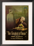 The Greatest of These, from Left, Belle Adair, Alec B. Francis, 1914 Print