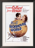 It&#39;s a Wonderful World, James Stewart, Claudette Colbert, 1939 Prints