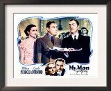 My Man Godfrey, William Powell, Alice Brady, Carole Lombard, 1936 Prints