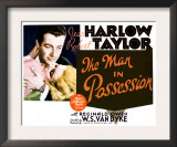 The Man in Possession, Jean Harlow, Robert Taylor 1931 Prints