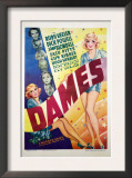 Dames, Ruby Keeler, Dick Powell, Joan Blondell, Zasu Pitts, Guy Kibbee, Hugh Herbert, 1934 Prints