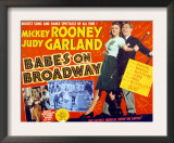 Babes on Broadway, Judy Garland, Mickey Rooney, 1941 Prints