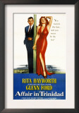 Affair in Trinidad, Glenn Ford, Rita Hayworth, 1952 Poster