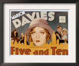 Five and Ten, Marion Davies, Richard Bennett, Leslie Howard, 1931 Prints