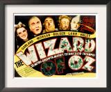 Wizard of Oz, Judy Garland, Frank Morgan, Ray Bolger, Bert Lahr, Jack Haley, 1939 Posters