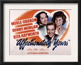Affectionately Yours, Merle Oberon, Dennis Morgan, Rita Hayworth, 1941 Art