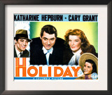Holiday, Cary Grant, Katharine Hepburn 1938 Prints