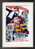 The Belle of New York, Fred Astaire, Vera-Ellen, 1952 Poster
