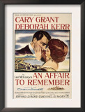 Affair to Remember, Cary Grant, Deborah Kerr, 1957 Posters