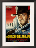 For a Few Dollars More, Clint Eastwood, 1965 Print