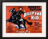 Billy the Kid, Robert Taylor, 1941 Art