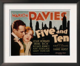 Five and Ten, Leslie Howard, Marion Davies, 1931 Print