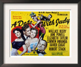 Date with Judy, Elizabeth Taylor, Robert Stack, Jane Powell, Wallace Beery, Carmen Miranda, 1948 Prints