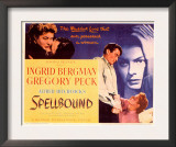 Spellbound, Ingrid Bergman, Gregory Peck, 1945 Prints