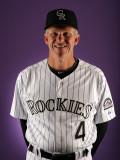 Colorado Rockies Photo Day, SCOTTSDALE, AZ - FEBRUARY 24: Jim Tracy Photographic Print by Harry How