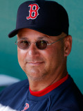 Boston Red Sox v Pittsburgh Pirates, BRADENTON, FL - MARCH 13: Terry Francona Reproduction photographique par J. Meric