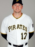 Pittsburgh Pirates Photo Day, BRADENTON, FL - FEBRUARY 20: Josh Fields Photographic Print by J. Meric