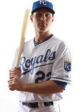 Kansas City Royals Photo Day, SURPRISE, AZ - FEBRUARY 23: Lucas May Photographic Print by Jonathan Ferrey