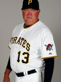 Pittsburgh Pirates Photo Day, BRADENTON, FL - FEBRUARY 20: Clint Hurdle Photographic Print by J. Meric