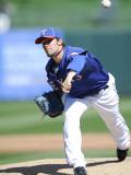 Kansas City Royals v Texas Rangers, SURPISE, AZ - FEBRUARY 27: C.J. Wilson Photographic Print by Rob Tringali