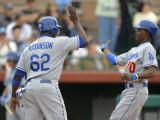 Los Angeles Dodgers v San Francisco Giants, SCOTTSDALE, AZ Photographic Print by Rob Tringali