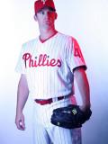 Philadelphia Phillies Photo Day, CLEARWATER, FL - FEBRUARY 22: Roy Oswalt Photographic Print by Nick Laham