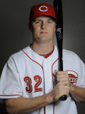 Cincinnati Reds Photo Day, GOODYEAR, AZ - FEBRUARY 20: Jay Bruce Photographic Print by Rob Tringali