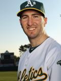Oakland Athletics Photo Day, PHOENIX, AZ - FEBRUARY 24: Adam Rosales Photographic Print by Ezra Shaw