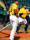 Minnesota Twins v Pittsburgh Pirates, BRADENTON, FL - MARCH 02: Clint Hurdle Photographic Print by J. Meric