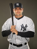 New York Yankees Photo Day, TAMPA, FL - FEBRUARY 23: Francisco Cervelli Photographic Print by Al Bello