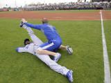Los Angeles Dodgers v San Francisco Giants, SCOTTSDALE, AZ - FEBRUARY 26: Tony Gwynn Photographic Print by Rob Tringali