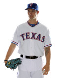 Texas Rangers Photo Day, SURPRISE, AZ - FEBRUARY 25: C. J. Wilson Photographie par Jonathan Ferrey