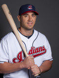 Cleveland Indians Photo Day, GOODYEAR, AZ - FEBRUARY 22: Travis Haffner Photographic Print by Rob Tringali
