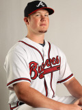 Atlanta Braves Photo Day, LAKE BUENA VISTA, FL - FEBRUARY 21: Craig Kimbrel Photographic Print by Mike Ehrmann