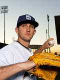 San Diego Padres Photo Day, PEORIA, AZ - FEBRUARY 23: Colt Hynes Photographic Print by Rob Tringali